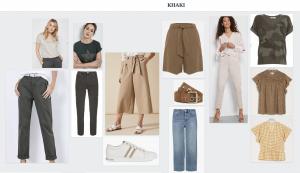 virtual styling e styling khaki