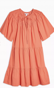 coral summer dress best high street dresses
